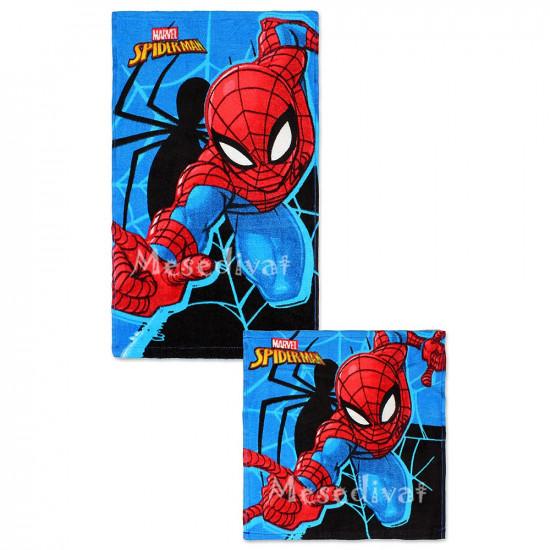 Pókemberes arctörlő kéztörlő törölköző szett