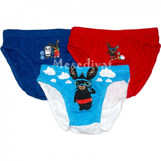 Bing nyuszis alsónadrágok kisfiúknak