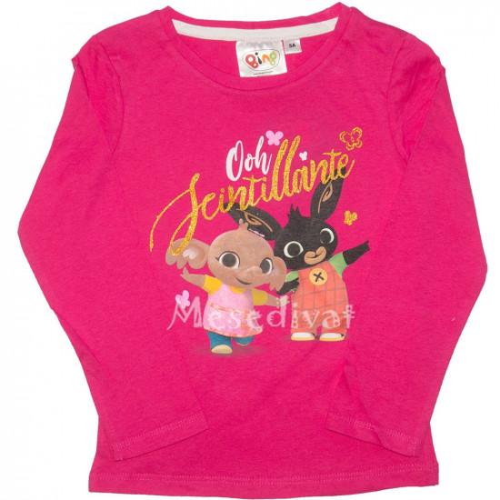 Bing nyuszi kislány hosszúujjú póló pink