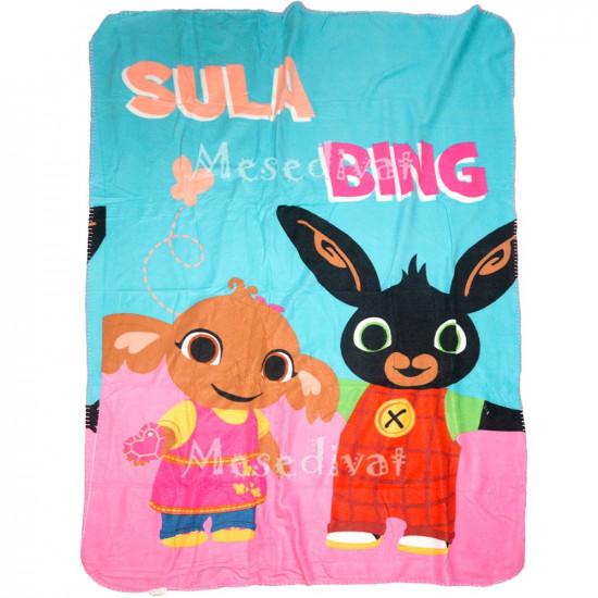 Bing nyuszis polár pléd kislányoknak