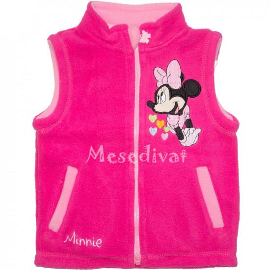Minnie Egeres bébi mellény pink