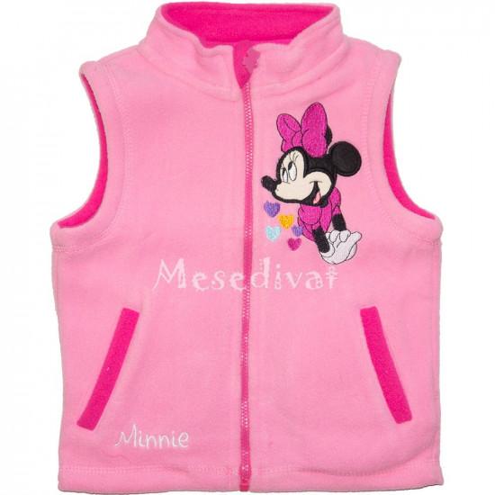 Minnie Egeres baba mellény rózsaszín