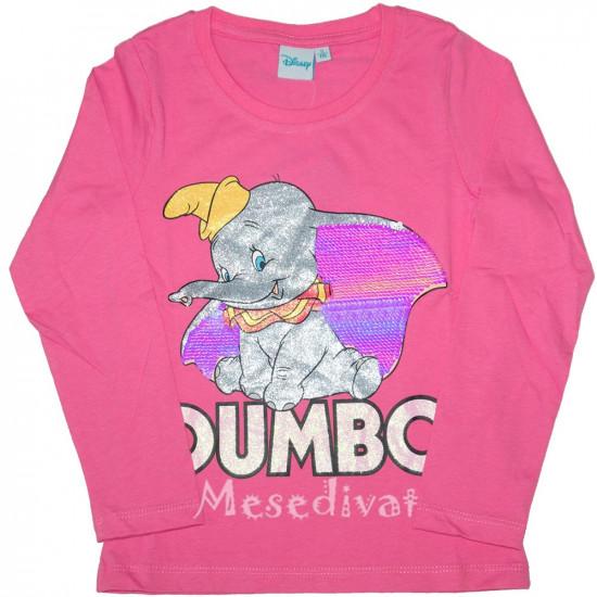 Dumbó hosszúujjú póló kislányoknak