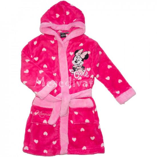 Minnie Mouse szivecskés köntös pink