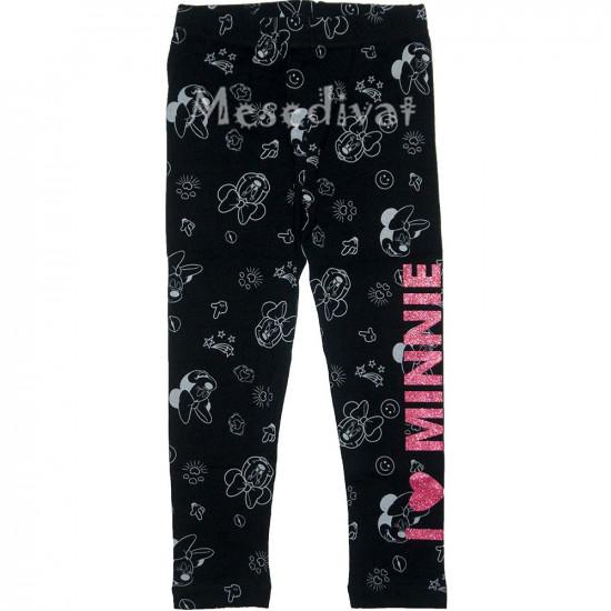 Minnie Egeres leggings fekete