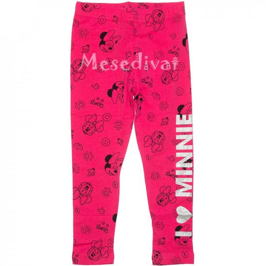 Minnies pink leggings csillogós felirattal