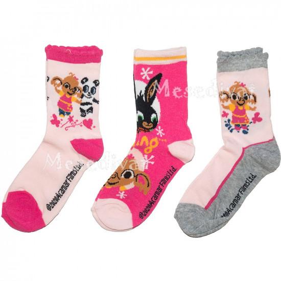 Bing nyuszis zokni csomag kislányoknak