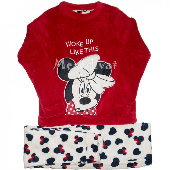 Minnie Mouse női wellsoft pizsama S-XL