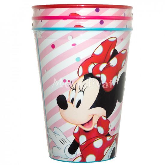 Minnie Egeres műanyag pohár szett kislányoknak