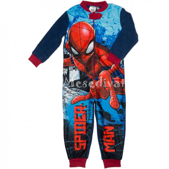 Pókemberes polár pizsamaoverál kisfiúknak