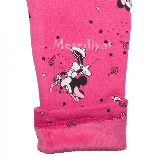 Minnie téli leggings 98-134 rózsaszín