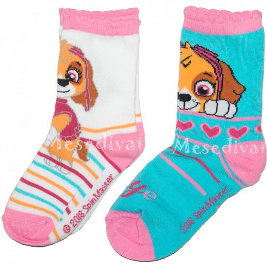 Mancs Őrjárat zokni kislányoknak 2 pár