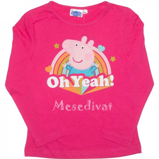 Peppa Malacos hosszúujjú póló pink