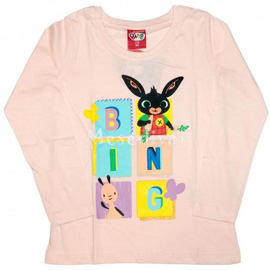Bing nyuszis kislány hosszúujjas póló