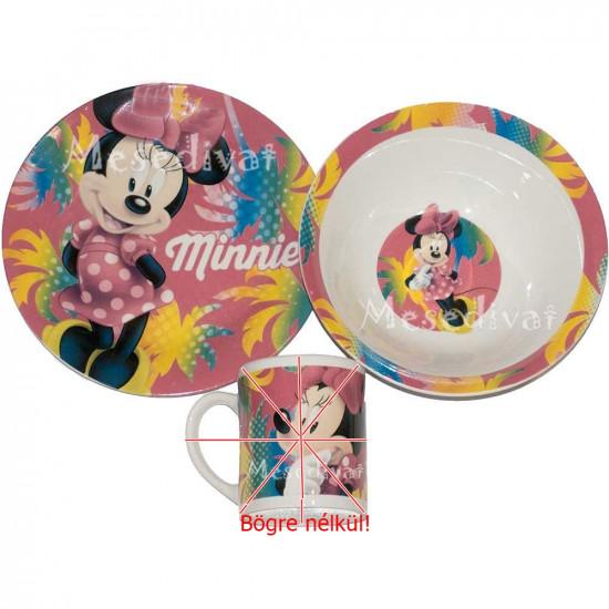 Minnie Mouse porcelán étkészlet BÖGRE NÉLKÜL