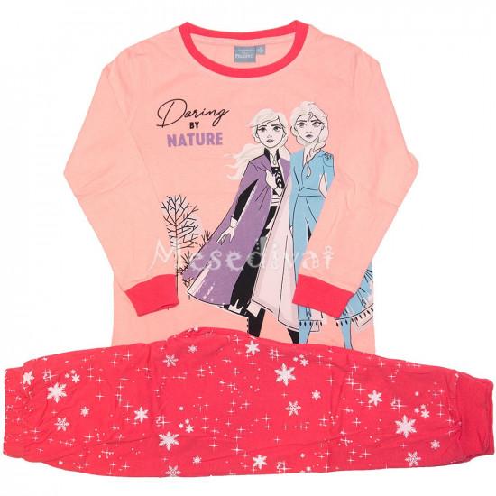 Jégvarázsos hosszúujjas pizsama 98-134