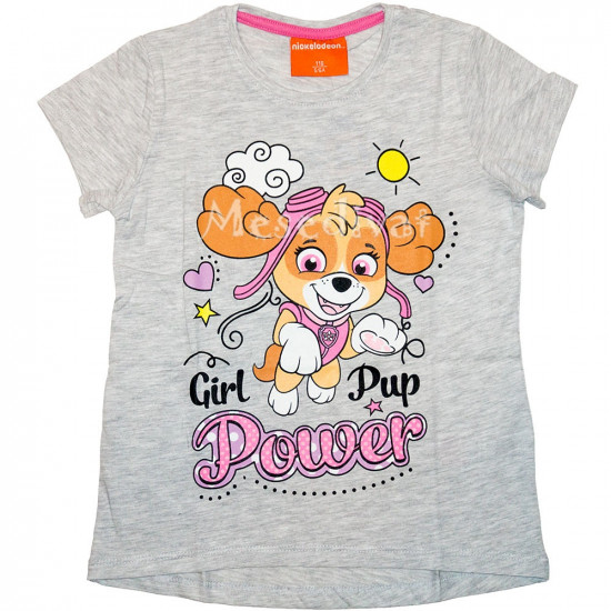 Mancs Őrjárat kislány póló 104-134