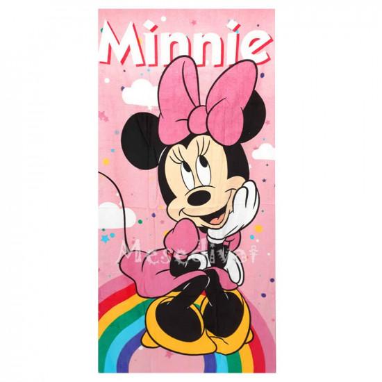 Minnie Egeres fürdőlepedő szivárványos