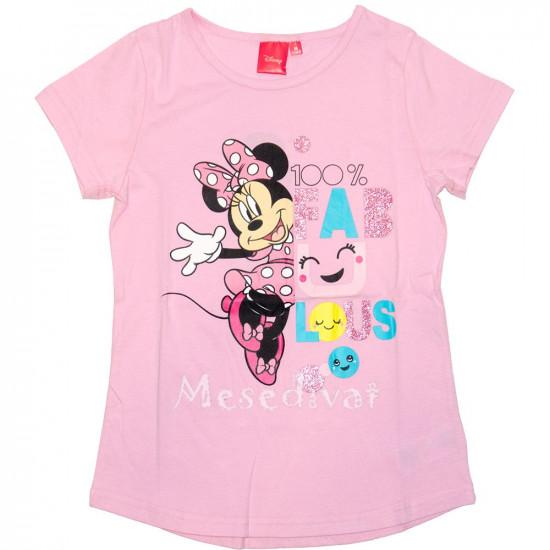 Minnie Egeres póló rózsaszín 98-128