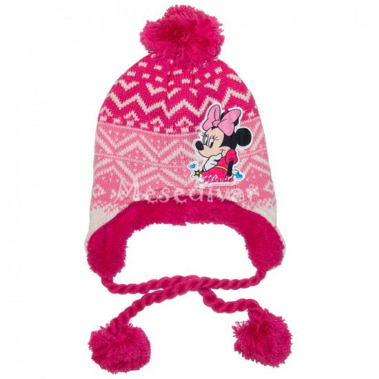 Minnie Egeres vastag kötött sapka pink