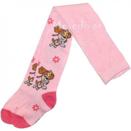 Mancs Őrjárat kislány harisnya rózsaszín