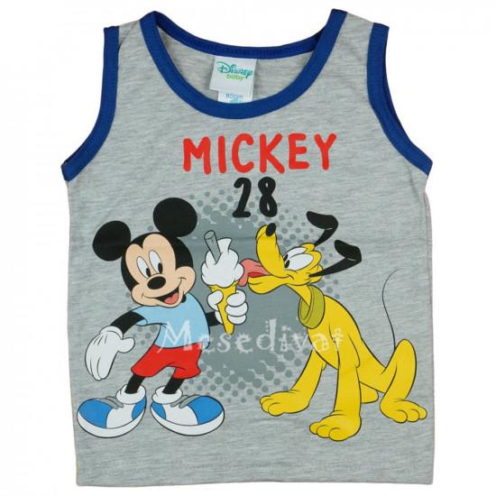 Mickey Egeres pamut trikó szürke