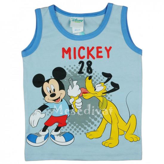 Mickey Egeres pamut trikó világoskék