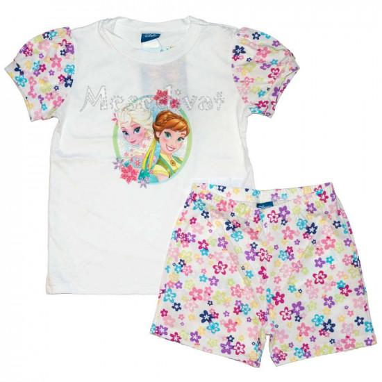 Jégvarázs nyári együttes pizsama kislányoknak