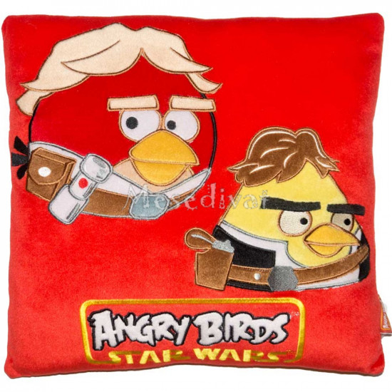 Angry Birds párna piros