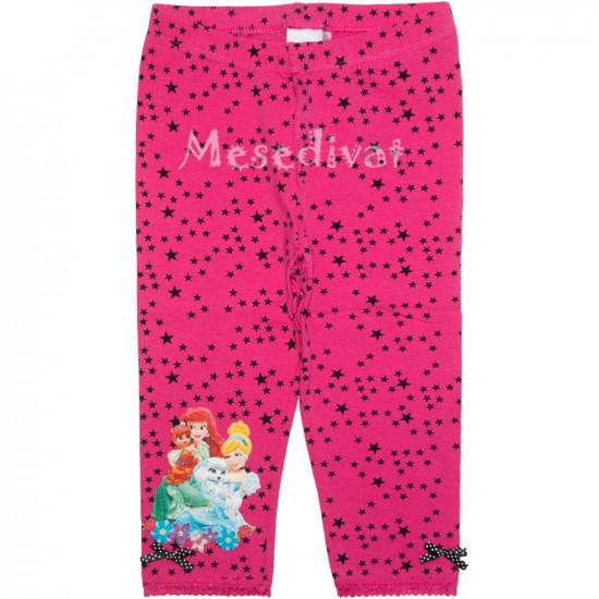 Hercegnős térdnadrág leggings pink