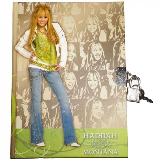 Hannah Montana emlékkönyv lakattal arany