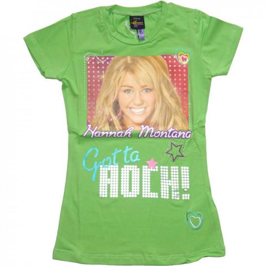 Hannah Montana rövidujjjú póló zöld