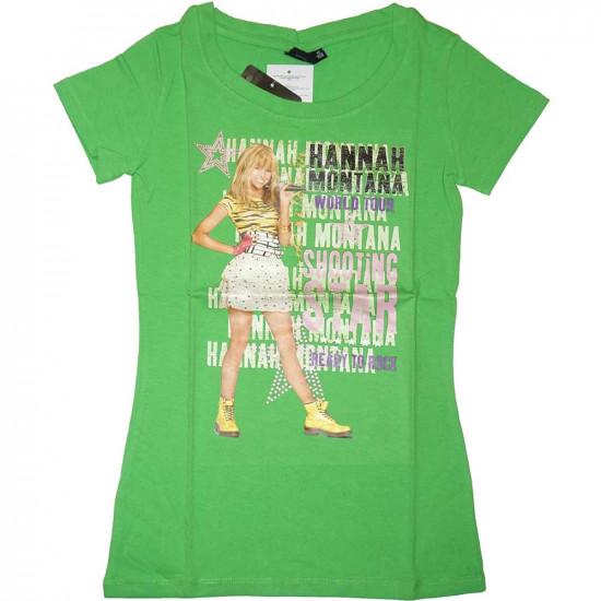 Hannah Montana rövidujjú póló zöld
