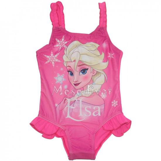 Jégvarázs Frozen Elsa fürdőruha rózsaszín