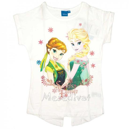 Jégvarázs póló Sisters Forever fehér