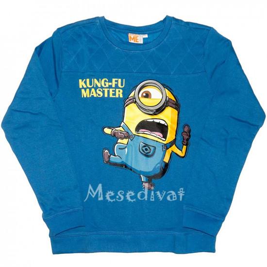 Minyon Minion pulóver kék