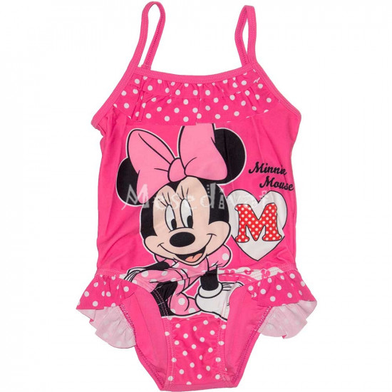 Minnie Egeres fürdőruha pink
